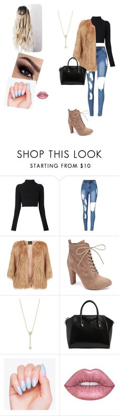 """""""Winter #1"""" by lologray ❤ liked on Polyvore featuring Balmain, Pinko, Wild Diva, EF Collection and Givenchy"""