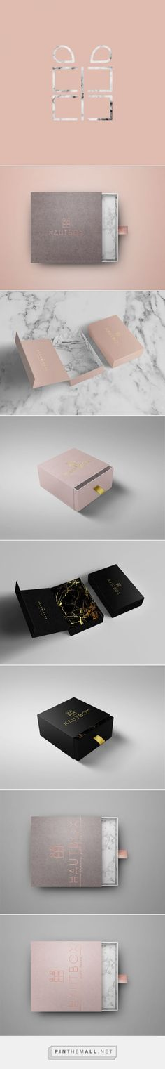 Hautbox by Yeal Saferstein, Miami, Florida on Behance curated by Packaging Diva PD. Hautbox is a luxury curated gift box that comes in 12 variations, making gifting for any occasion as simple as a click of a button. #giftpackaging