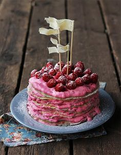 Homemade Raspberry Swedish Pancakes Recipe