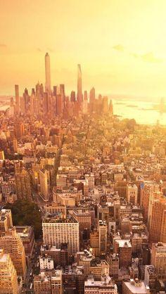 Sunset in New York C