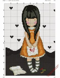gorjuss cross stitch patterns - Cerca con Google