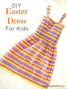 DIY Spring Dress for Kids
