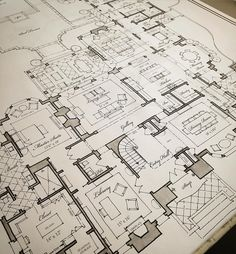 Sweeping floorplan concepts for a new Atlanta house. Living Room Floor Plans, Living Room Flooring, House Floor Plans, Living Rooms, The Plan, How To Plan, New Atlanta, Atlanta Homes, Architectural Floor Plans