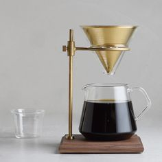 Pour-Over Coffee Brewer Stand