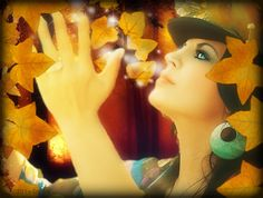 Autumn's kiss wm by cocoaberi.deviantart.com on @deviantART