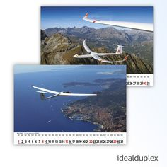 Soaring picture calendar – edition 2020 - we did the image editing, retouching and the prepress stuff 🖌 Picture Calendar, Calendar Pictures, Web Design, Print Design, Graphic Design, Corporate Design, Image Editing, Gliders, Case Study
