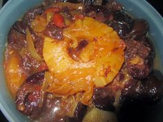 Lomo de cerdo con piña en Crock Pot