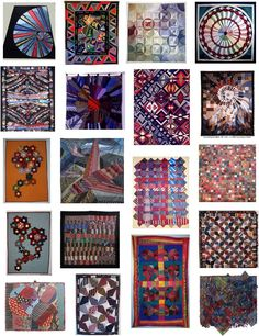Quilt Inspiration: All tied up ! Quilts made from neckties