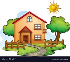 House drawing easy houses dream sketches basic outline free floor plans how to draw building pdf Simple Nature Drawing, Easy Nature Drawings, Nature Drawing For Kids, Painting For Kids, Easy Drawings, House Drawing For Kids, Simple House Drawing, Art Drawings For Kids, Disney Drawings