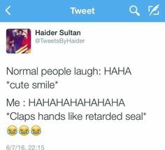 This s is so freaking relatable Funny Memes, Jokes, Normal People, People Laughing, Always Smile, I Can Relate, Sarcasm, Good Times, Seal