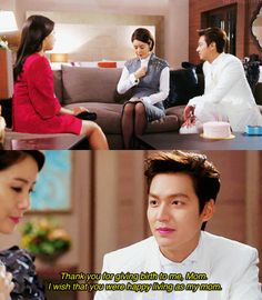 Kim Tan and Cha Eun Sang ♡ #Kdrama // The #HEIRS. Happy Mother's Day