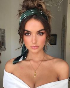 Bandana hairstyle ideas for summers