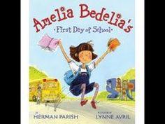 ARWEN SHARP reads - Amelia Bedelia's First Day Of School - YouTube