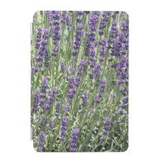 Lavender Flowers Floral iPad Mini Cover - purple floral style gifts flower flowers diy customize unique