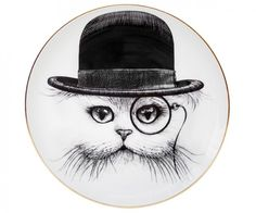 Porcelain dish CAT IN THE HAT
