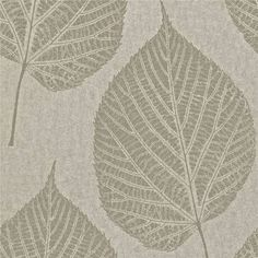 Silver Leaf Wallpaper - ShopStyle UK