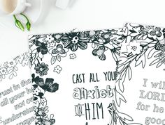 4 Free Printable Scripture Bible Verse Coloring Pages To Bring Rest Your Spirit For