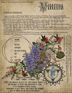 The Fifth Chakra (Visuddha / Throat chakra) Book of Shadows page. The Fifth Chakra. 3 Chakra, Throat Chakra, Chakra Healing, Healing Meditation, Yoga Meditation, Wiccan Spells, Witchcraft, Herbal Magic, Yoga