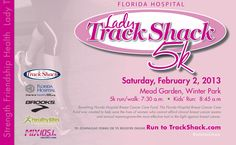 Join for Lady Track Shack, Saturday, Feb. 2, 2013.