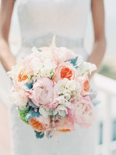 Photography : Carmen Santorelli Photography | Floral Design : Bayview Florist & Montage   Read More on SMP: http://www.stylemepretty.com/2014/08/11/seaside-wedding-in-the-hamptons/