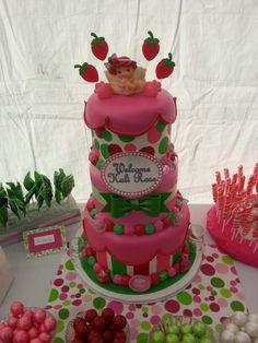 #Candybar #candystation #candybuffet #candydisplay #candy #cake #babyshower #strawberryshortcake