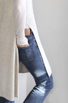 Fashion Gone rouge : Photo Denim Fashion, Look Fashion, Womens Fashion, Fashion Trends, Casual Styles, Look 2015, Looks Jeans, Fashion Gone Rouge, Mode Jeans