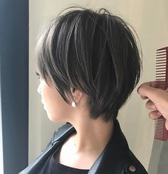 66 Chic Short Bob Hairstyles & Haircuts for Women in 2019 - Hairstyles Trends Medium Bob Hairstyles, Hairstyles Haircuts, Pretty Hairstyles, Short Hair Cuts, Short Hair Styles, Hair Arrange, Lob Hairstyle, Hair 2018, Hair Today