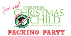 Operation Christmas Child - shoebox and linkups for other ideas and ways to help