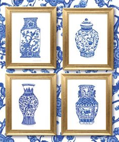 Enrich your family's living environment with this elegant Chinoisiere vase print. Shipping note: This item is made for zulily. Allow extra time for your special find to ship.