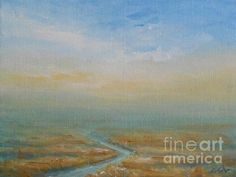 Turning Point - painting by Jane See. Fine art prints for sale. #Emotiveart #Landscape #janeseeart