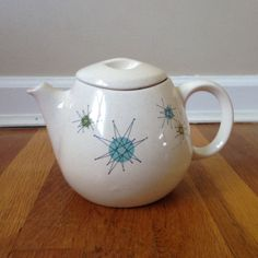 A personal favorite from my Etsy shop https://www.etsy.com/listing/256383679/franciscan-pottery-atomic-starburst-tea