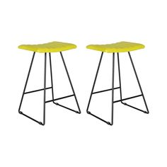 Socialize with a group of friends or enjoy a favorite evening cocktail while seated on these chic and cozy counter stools. Made with plush, leather-look seat cushioning and sleek A-line iron frames, th...  Find the Barbara Counter Stools - Set of 2, as seen in the Counter Stools Collection at http://dotandbo.com/category/furniture/stools/counter-stools?utm_source=pinterest&utm_medium=organic&db_sku=113122