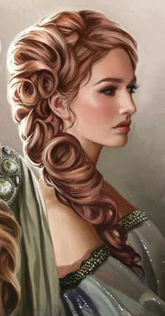 Female Aristocrat - Pathfinder PFRPG DND D&D d20 fantasy