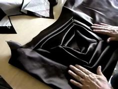 YouTube video of Shinto Sato's TR Pattern making. #sewing