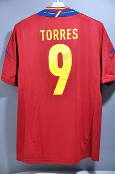 Spain Torres 2012 Adidas Jersey Shirt Replica Euro Champion 2012 World Cup 2014) – Nice Day Sports