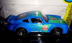 HOT WHEELS 2016  SPEED GRAPHICS  #6/10  PORSCHE 954 TURBO RSR  (blue) #HotWheels #Porsche