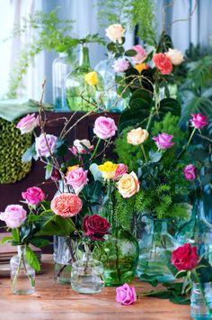 Bloemen feest