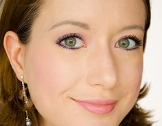 Tuto-maquillage-make-up-chocolate-bar-too-faced-bonbon-pastel-rose-violet-candied-candy-visage-trois-qarts-gros-plan