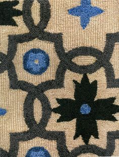 """""""Stonebridge"""" from the Howard Slatkin Collection at Stark Carpet. Hand woven, avalable in custom colors."""