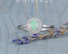 HANDMADE RINGS & BRIDAL SETS by MoissaniteRings on Etsy Bridal Ring Sets, Handmade Rings, Opal, Trending Outfits, Merry, Unique Jewelry, Turquoise, Engagement Rings, Gifts