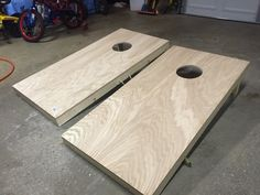 How To Make A Portable Cornhole Board Set For Camping