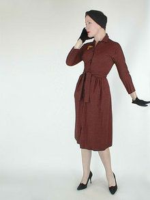 late 1950s Claire McCardell dress  - Courtesy of denisebrain