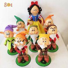 Gnomes, Bowser, Disney, Sette Nani, Character, Biscuit, Seven Dwarfs, Crochet Baby Clothes, Handmade Dolls