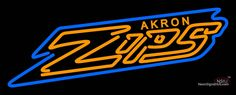 Akron Zips Wordmark  Pres Logo NCAA Real Neon Glass Tube Neon Sign,if you want to get it , click the visit button or go to my website !