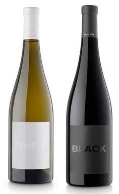 blak Montrubi #wine #label www.prettywines.com