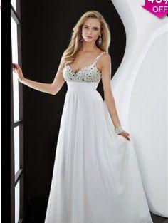 A-line V-neckSleeveless Floor-length Chiffon Evening Dress #USAZT910 - See more at: http://www.avivadress.com/prom-dresses/plus-size-prom-dresses.html?p=2#sthash.xyQnZ8ZD.dpuf