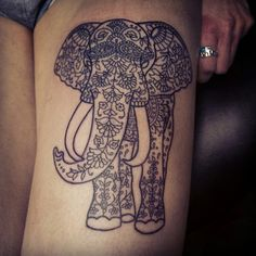 Elephant+And+Baby+Tattoo                                                                                                                                                                                 More