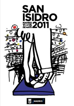 Fiestas de San Isidro. Madrid. 2011 Verbena, Foto Madrid, Vintage Travel Posters, Branding Design, Nostalgia, America, Graphic Design, Brochures, Folklore