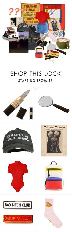 """""""lets find something unexplained"""" by mermaidwitch ❤ liked on Polyvore featuring Cedes, Polaroid, Marc Jacobs, WearAll, Christian Louboutin and plus size clothing"""