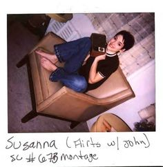 "Winona Ryder on the set of ""Girl, Interrupted"""